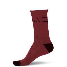 RYKE Mid Cut Socks, red